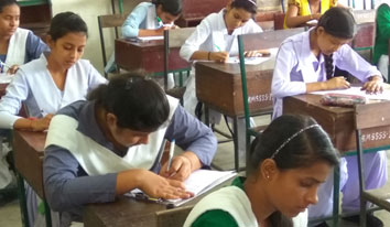 Written test at Haridwar