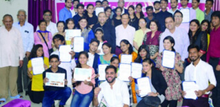First Graduation ceremony at Udayan Care IT Centre